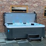 repose hot tub bespoke swim spas