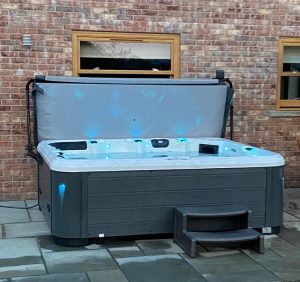 repose hot tub bespoke swim spas