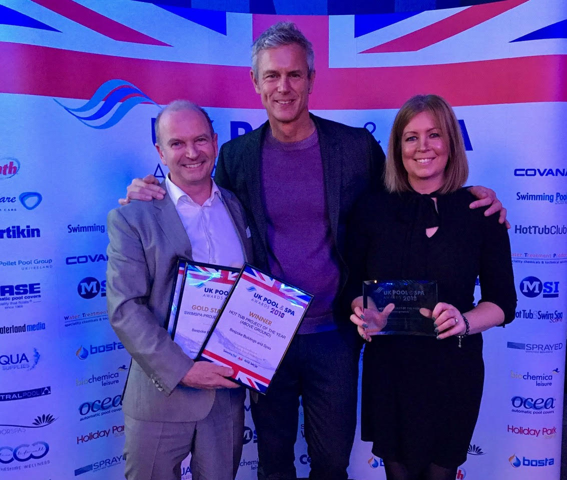 Bespoke swim spas won hot tub project of the year 2018