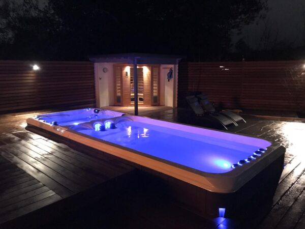 Dynamic Swimspa with deep option, Bespoke